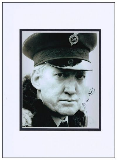 Brian Wilde Autograph Signed Photo - Porridge
